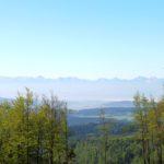 26. Rankiem panorama Tatr spod schroniska była wyraźniejsza...