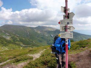 63. Na przełęczy za Turkułem wróciliśmy na szlak...