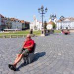 101. ...Piaţa Unirii, gdzie niektórzy poczuli się jak w domu...