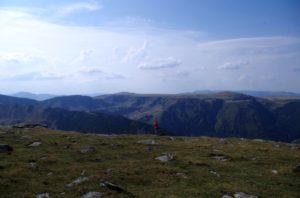 27. ...podziwiając Platformę Borăscu w górach Godeanu.