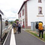 4. …i przejechałam pociągiem do Saint-Jean-Pied-de-Port.