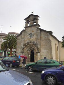 120. W Melide, do którego weszłam obok kościółka San Pedro…