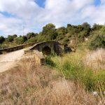74. Tym średniowiecznym mostem wkroczyłam do wioski Lorca…