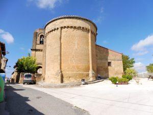 75. …z romańskim kościołem San Salvador, niestety zamkniętym.