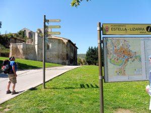 77. Do Estelli (bask. Lizarra) weszłam obok kościoła SantoSepulcro…