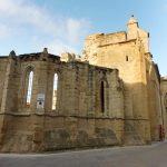 106. Gotycki kościół San Pedro od wojen karlistowskich jest w ruinie…