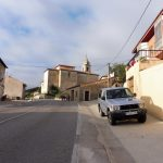 155. W Villafranca de Montes de Oca z kościołem św. Jakuba…
