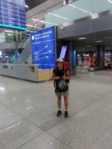 2. Z lotniska w Balicach poleciałam do Lourdes…