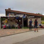 5. W barze przy albergu w Cardeñuela Riopico można było wypić kawę.