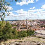 20. Panorama Burgos z katedrą na pierwszym planie z górnego tarasu widokowego.