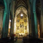 40. Kościół MB od Jabłoni nawiązuje do legendy, w której św. Jakubowi ukazała się Maryja.