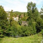 """28. Do Larrasoaña weszliśmy po średniowiecznym """"moście bandytów""""."""