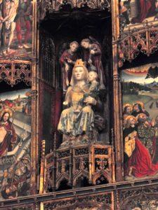 66. …w ołtarzu cudami słynąca Santa Maria la Blanca…