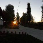 88. Słońce wstało kiedy wchodziłam do San Nicolas del Real Camino…