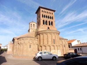 90. W Sahagun zwiedziłam kościół-muzeum San Tirso.