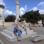 103. Po południu w mieście obejrzałam pomnik pielgrzymów…