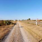 131. …a szlak wiódł obok drogi lokalnej.