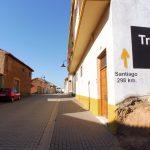 132. Z Villadangos del Paramo było 298 km do Santiago.