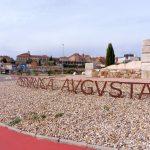 150. …przez rondo z rzymską nazwą miasta.