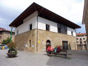 117. Alberg w Larrabetzu był jednym z lepszych na trasie.