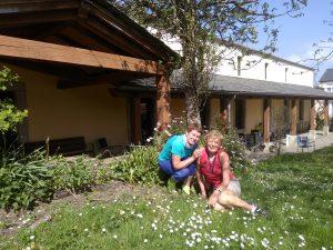 119. …z sympatyczniejszych albergów w Baamonde, 100 km od celu.