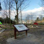 122. Na wzgórzu Monte Avril przed Bilbao dogonił nas Gian-Paolo…