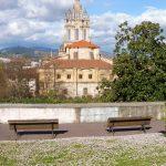 124. W Bilbao miałyśmy szczęście, bo była otwarta Basilica de Begoña.
