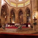 127. …figurę patrona Drogi w prezbiterium.