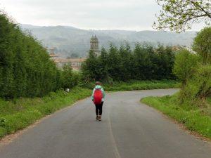 132. …ujrzałyśmy po 5 km i stanęłyśmy…