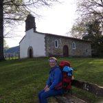 175. Za Rioseco odpoczywałyśmy przy starej kaplicy…