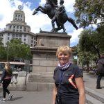 186. …doszłam na Plac Katalonii…