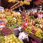 191. Zakupy robiłam na targowisku Boqueria z owoców…