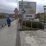 2. W Irun – miejscu startu Camino del Norte…