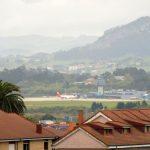 30. …udaje mi się ściągnąć zoomem lotnisko.