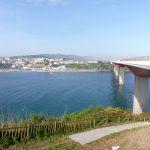 71. …i po moście Puente de los Santos (600m) weszłyśmy do Galicji.