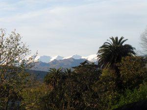 76. Rankiem okazało się, że ziąb to efekt świeżego śniegu w górach.