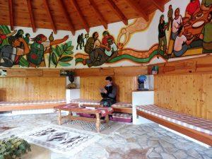 9. …El Cagigal z salą modlitwy…
