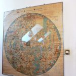 4. …i kopię średniowiecznej mapy świata z Ebstorf.