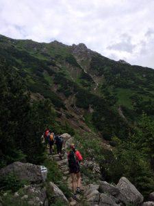 57. …zielonym szlakiem do Tomanowej Doliny…