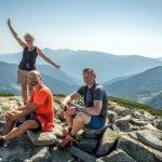 114. Kto nie był wdrapał się na ten drugi szczyt gór Ţarcu…