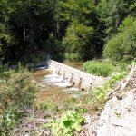 124. …zeszliśmy nad potoki poprzegradzane tamami.