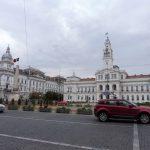 132. W Aradzie widzieliśmy pałac Cenad i ratusz z pomnikiem rewolucji 1989 r…