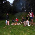 22. Wieczór spędziliśmy przy ognisku.