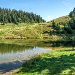 27. …dotarliśmy nad jeziorko na Cuntu…