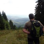 4. …skąd ujrzeliśmy wieś Podobowiec w dole.