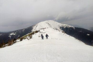 52. …końcówkę drogi aż na szczyt Wielkiego Kanusiaka.